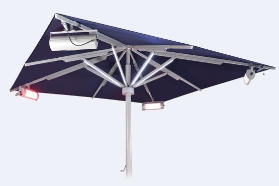 Das Integrierte Heizsystem Für Sonnenschirm Big Ben Sorgt Für Angenehme  Temperaturen. Die Verkabelung Verläuft Unsichtbar Und Geschützt Im Inneren  Des ... Nice Ideas